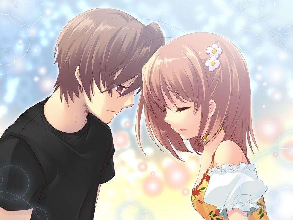 brown short hair game CG Flyable Heart Noiji Itou Inaba Yui wallpaper