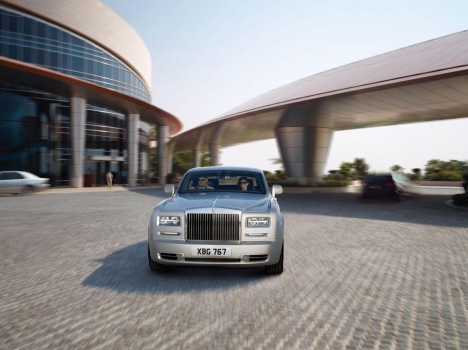 front series Rolls Royce Rolls Royce Phantom wallpaper