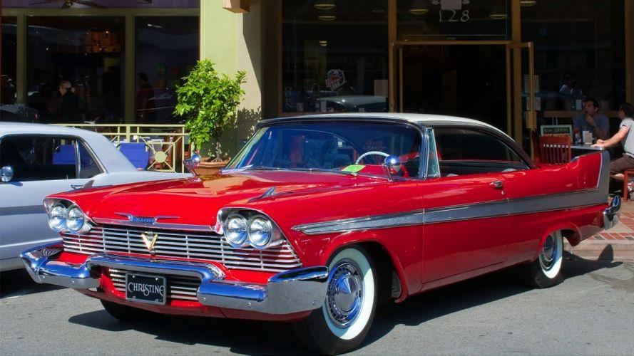 cars Plymouth Fury Christine (movie) wallpaper