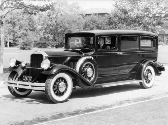 1930 Pierce Arrow Sedan retro luxury f wallpaper