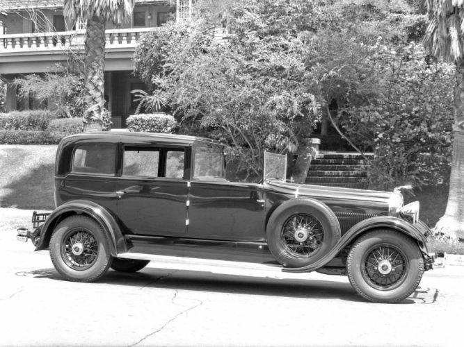 1930 Lincoln Model-L All-Weather Non-Collapsible Cabriolet retro luxury j wallpaper