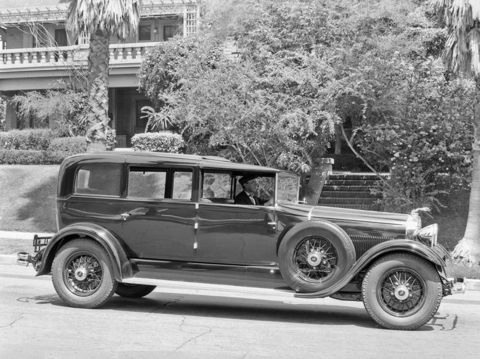 1930 Lincoln Model-L All-Weather Non-Collapsible Cabriolet retro luxury   y wallpaper