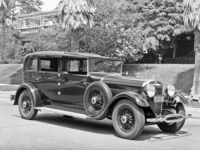 1930 Lincoln Model-L All-Weather Non-Collapsible Cabriolet retro luxury g wallpaper