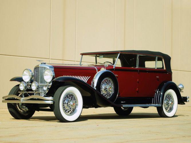 1930 Duesenberg Model-J 288-2307 Convertible Berline LWB Murphy luxury retro g wallpaper