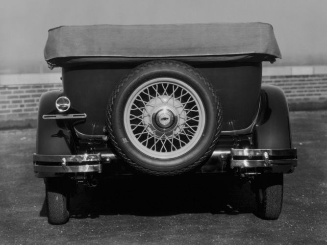 1930 Chevrolet Universal Phaeton (AD-3) retro convertible wheel f wallpaper