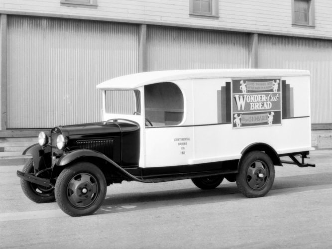 1931 Ford Model-AA Delivery Crown Motor Carriage delivery retro g wallpaper