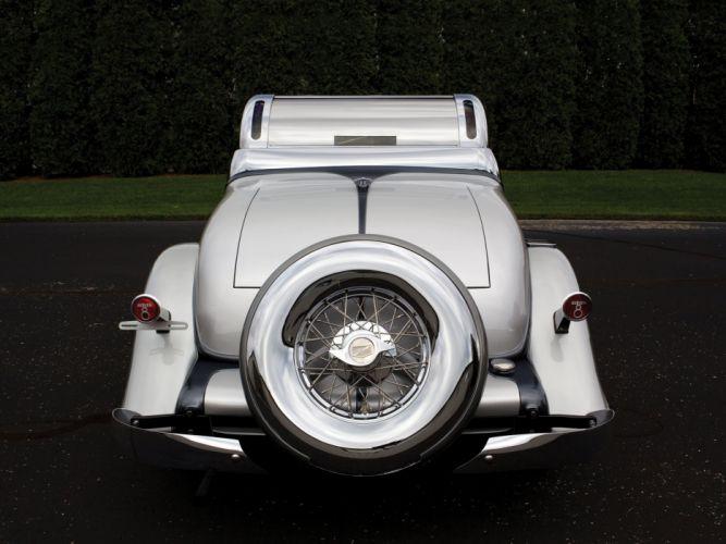 1933 Auburn 8-105 Retractable Hardtop Prototype Conrad Jobst retro luxury wheel g wallpaper