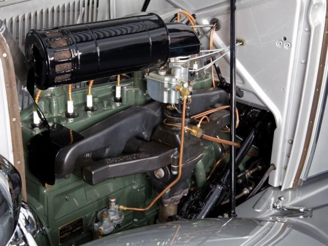 1933 Auburn 8-105 Retractable Hardtop Prototype Conrad Jobst retro luxury engine u wallpaper