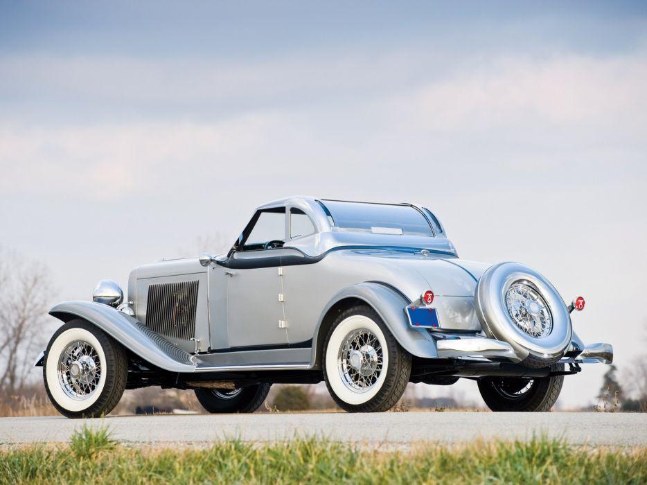 1933 Auburn 8-105 Retractable Hardtop Prototype Conrad Jobst retro luxury     h wallpaper