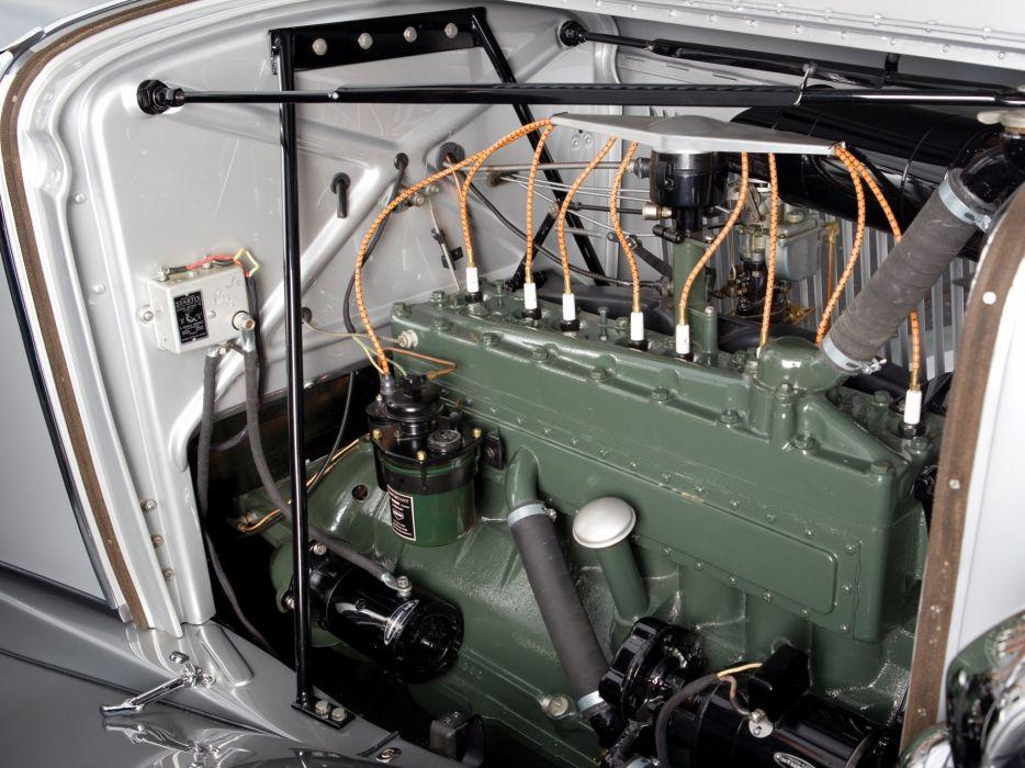 1933 Auburn 8-105 Retractable Hardtop Prototype Conrad Jobst retro luxury engine b wallpaper