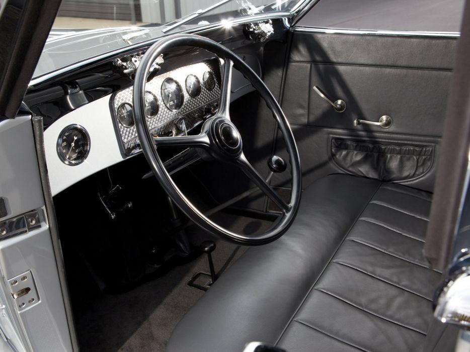1933 Auburn 8-105 Retractable Hardtop Prototype Conrad Jobst retro luxury interior u wallpaper