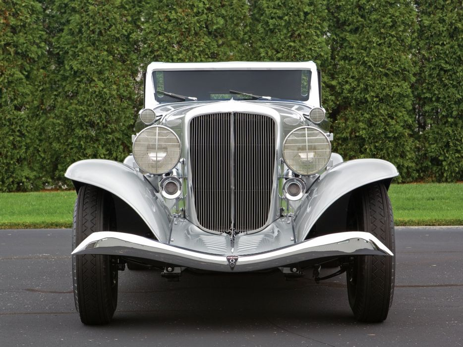 1933 Auburn 8-105 Retractable Hardtop Prototype Conrad Jobst retro luxury  h wallpaper