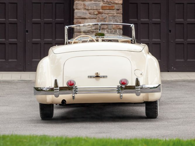 1937 Cord 812 Convertible Phaeton Sedan (C91-FB) retro luxury h wallpaper