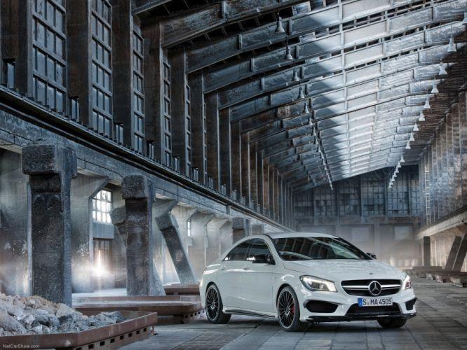 Mercedes-Benz-CLA45 AMG 2014 1600x1200 wallpaper 0e wallpaper