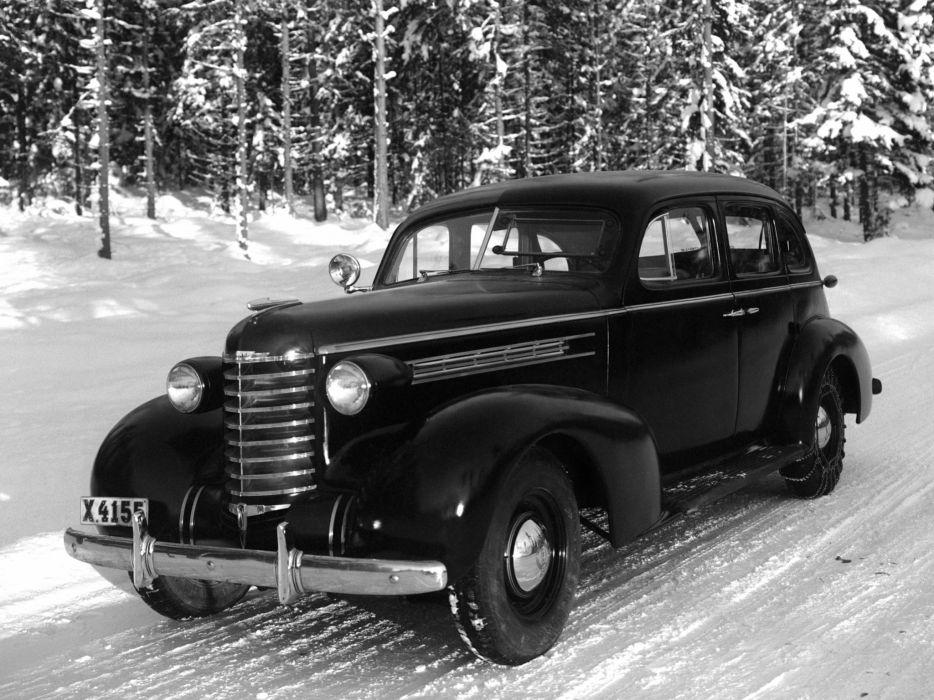 1937 Oldsmobile Series-F 4-door Sedan (373609) retro     h wallpaper