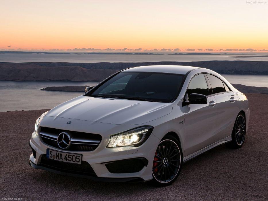 Mercedes-Benz-CLA45 AMG 2014 1600x1200 wallpaper 01 wallpaper