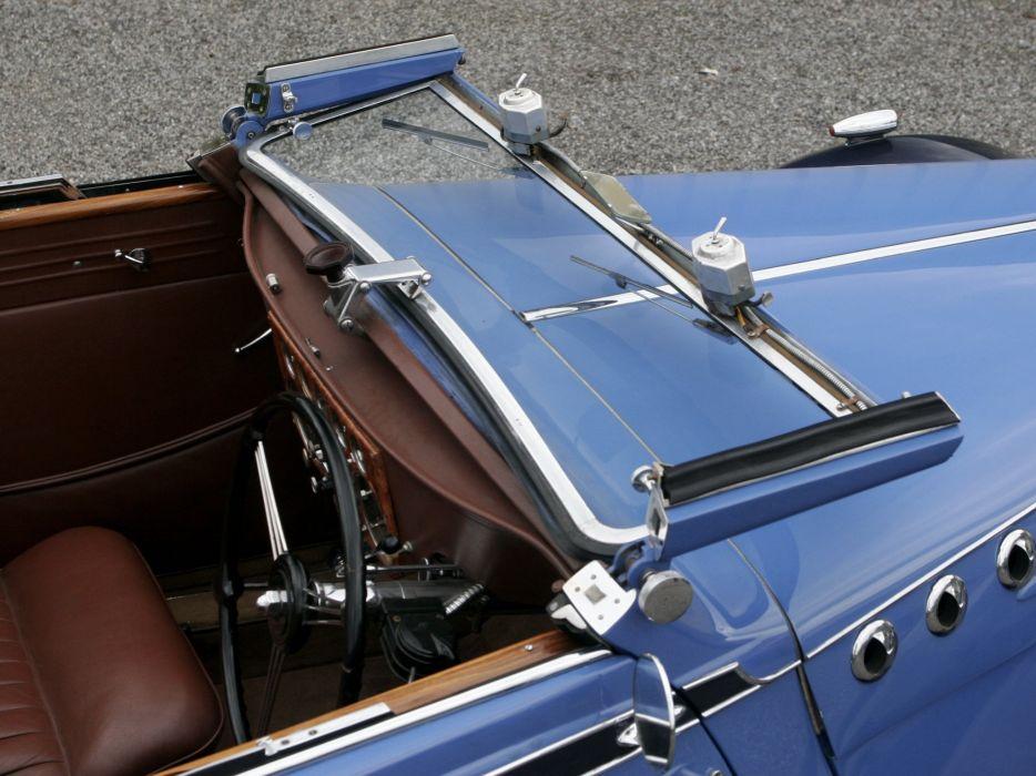 1938 Voisin C30 Cabriolet retro luxury convertible interior  g wallpaper