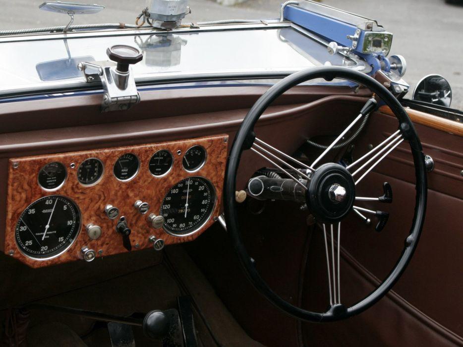 1938 Voisin C30 Cabriolet retro luxury convertible interior    f wallpaper