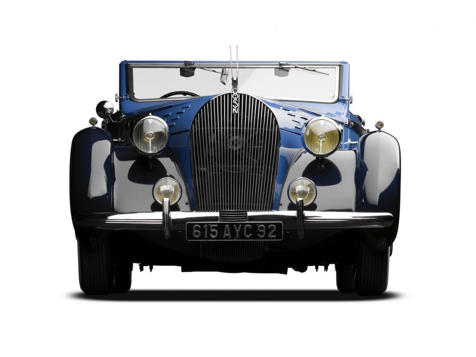 1938 Voisin C30 Cabriolet retro luxury convertible  g wallpaper