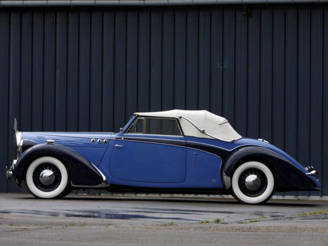 1938 Voisin C30 Cabriolet retro luxury convertible r wallpaper