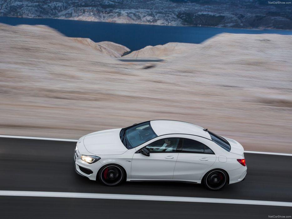 Mercedes-Benz-CLA45 AMG 2014 1600x1200 wallpaper 2d wallpaper