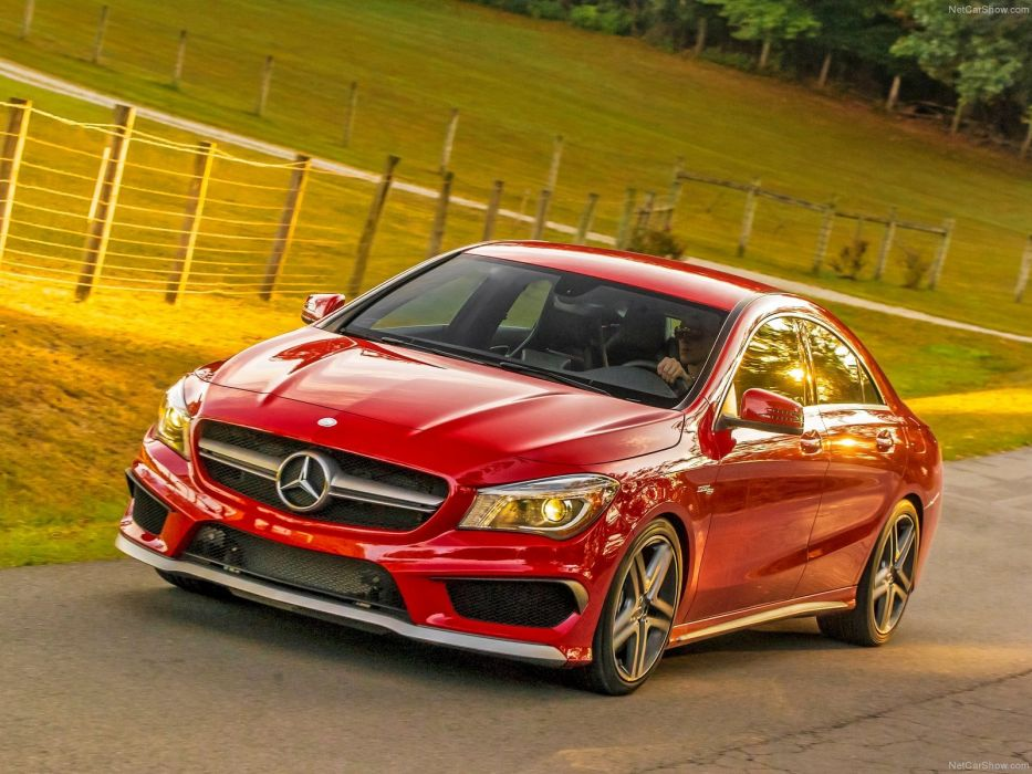 Mercedes-Benz-CLA45 AMG 2014 1600x1200 wallpaper 1a wallpaper