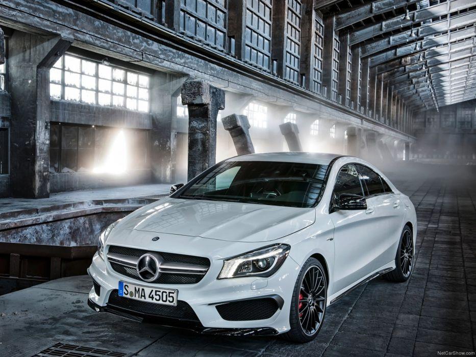Mercedes-Benz-CLA45 AMG 2014 1600x1200 wallpaper 03 wallpaper