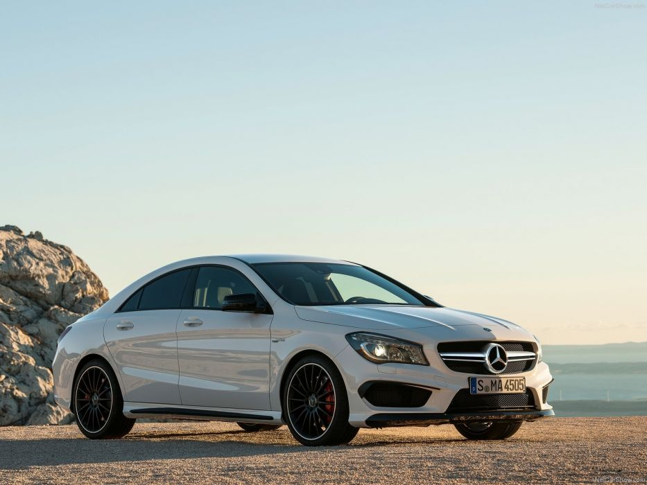 Mercedes-Benz-CLA45 AMG 2014 1600x1200 wallpaper 05 wallpaper