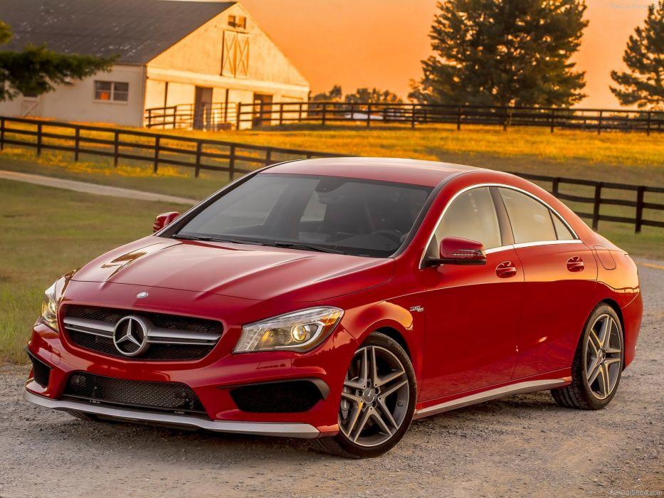 Mercedes-Benz-CLA45 AMG 2014 1600x1200 wallpaper 12 wallpaper