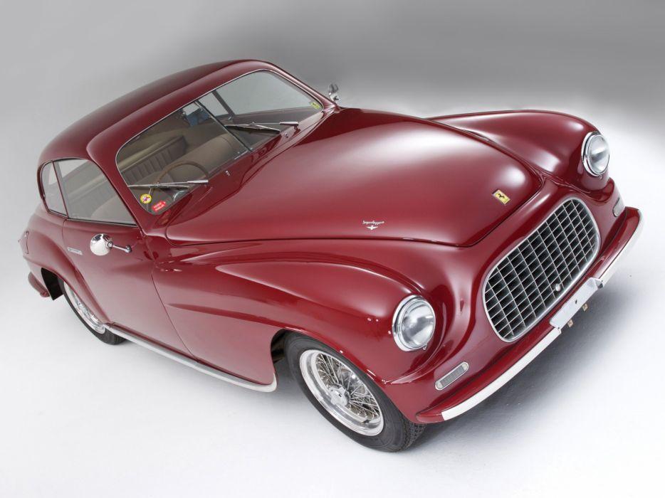 1950 Ferrari 166 Inter Touring Coupe supercar retro g wallpaper
