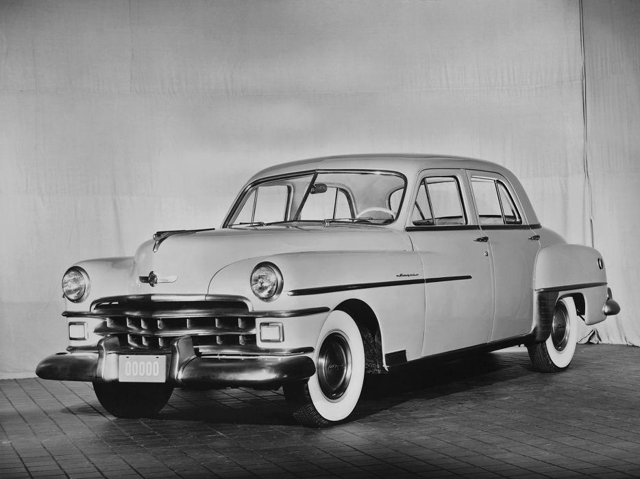 1950 Chrysler Royal 6-passenger Sedan (C48S) retro      g wallpaper