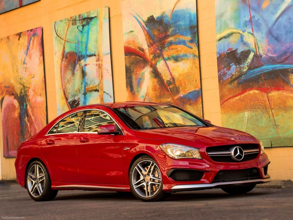 Mercedes-Benz-CLA45 AMG 2014 1600x1200 wallpaper 15 wallpaper