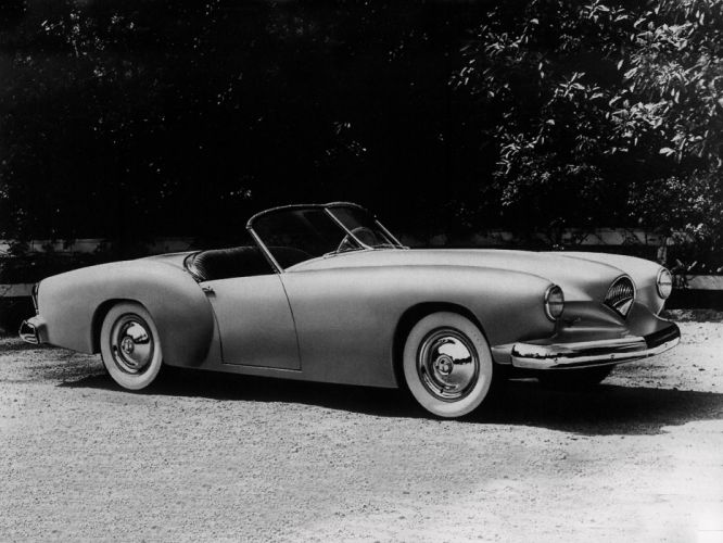 1953 Kaiser Darrin D-X100 prototype retro f wallpaper
