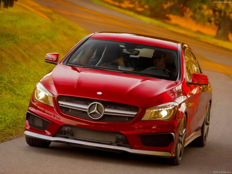Mercedes-Benz-CLA45 AMG 2014 1600x1200 wallpaper 28 wallpaper