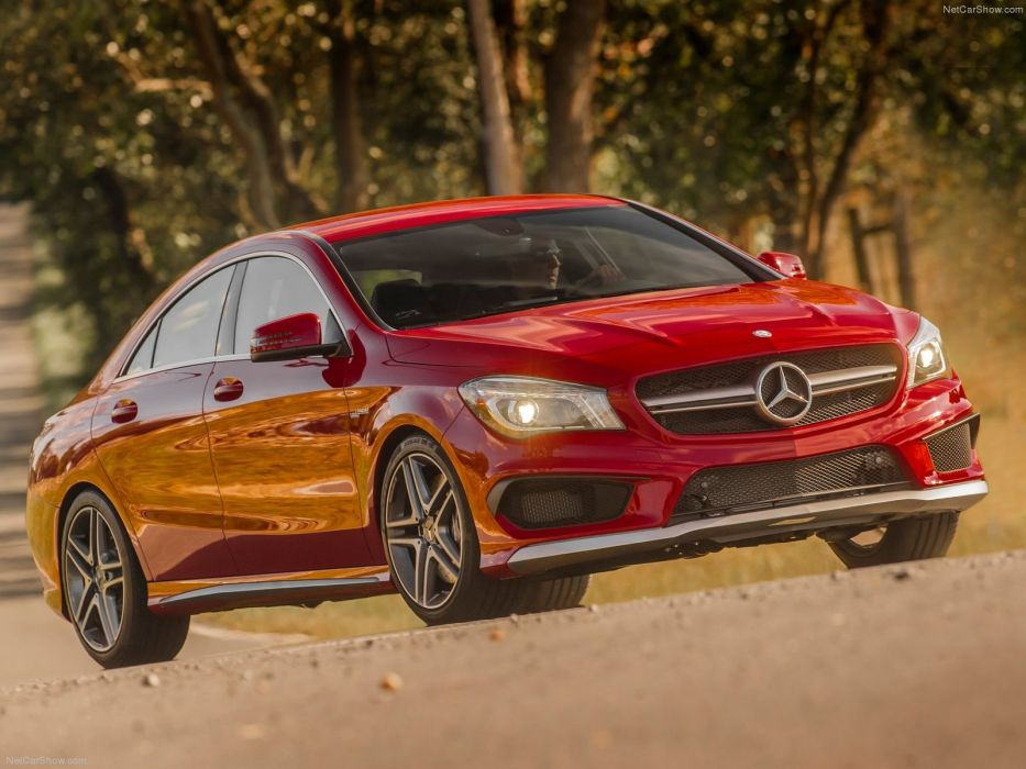 Mercedes-Benz-CLA45 AMG 2014 1600x1200 wallpaper 22 wallpaper