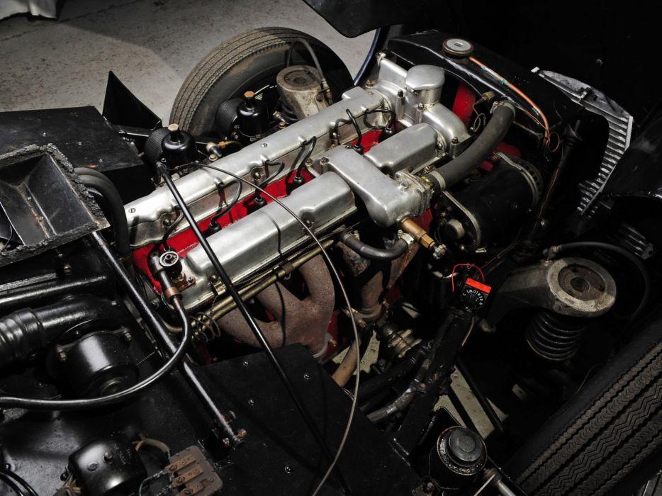 1953-55 Aston Martin DB24 Sports Saloon UK-spec retro engine     f wallpaper