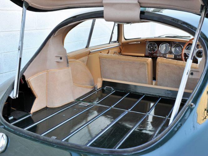 1953-55 Aston Martin DB24 Sports Saloon UK-spec retro interior f wallpaper