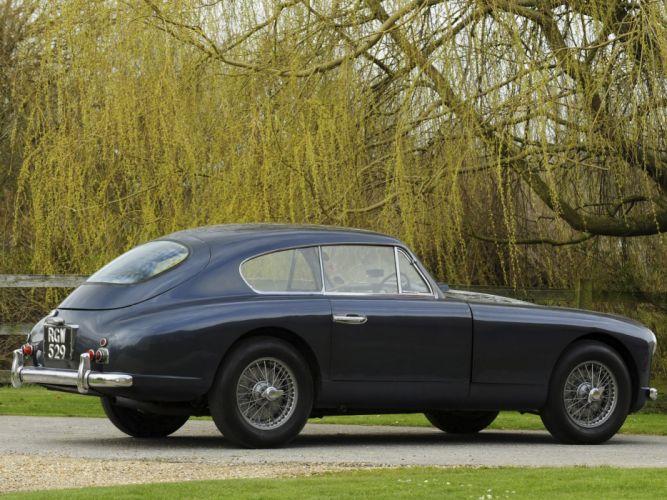 1953-55 Aston Martin DB24 Sports Saloon UK-spec retro ew wallpaper