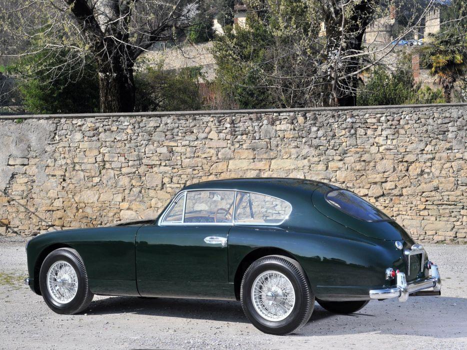 1953-55 Aston Martin DB24 Sports Saloon UK-spec retro e wallpaper
