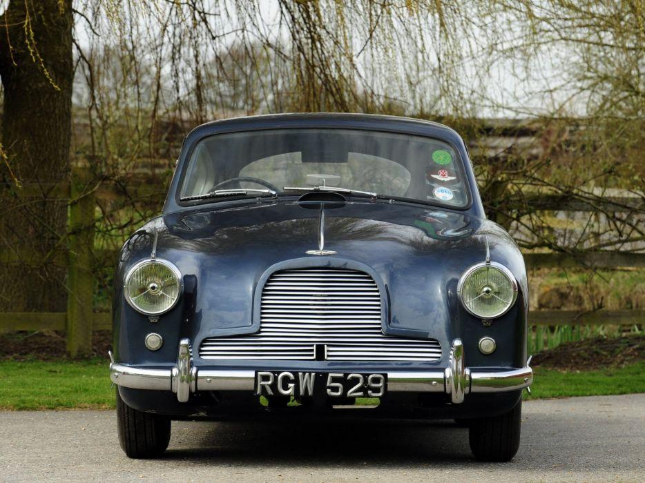 1953-55 Aston Martin DB24 Sports Saloon UK-spec retro  r wallpaper