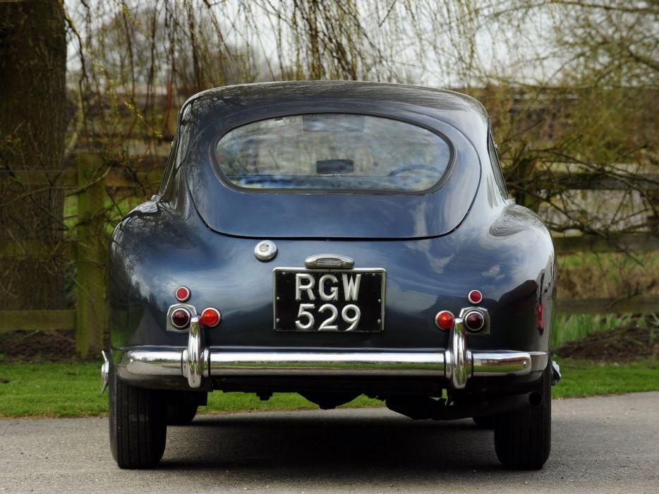 1953-55 Aston Martin DB24 Sports Saloon UK-spec retro  t wallpaper