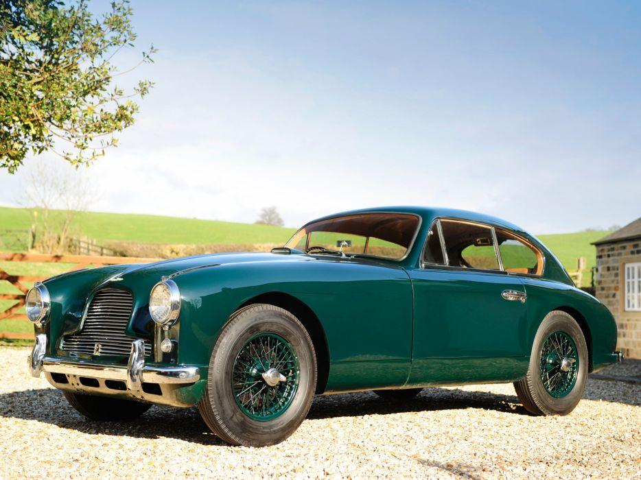 1953-55 Aston Martin DB24 Sports Saloon UK-spec retro  h wallpaper