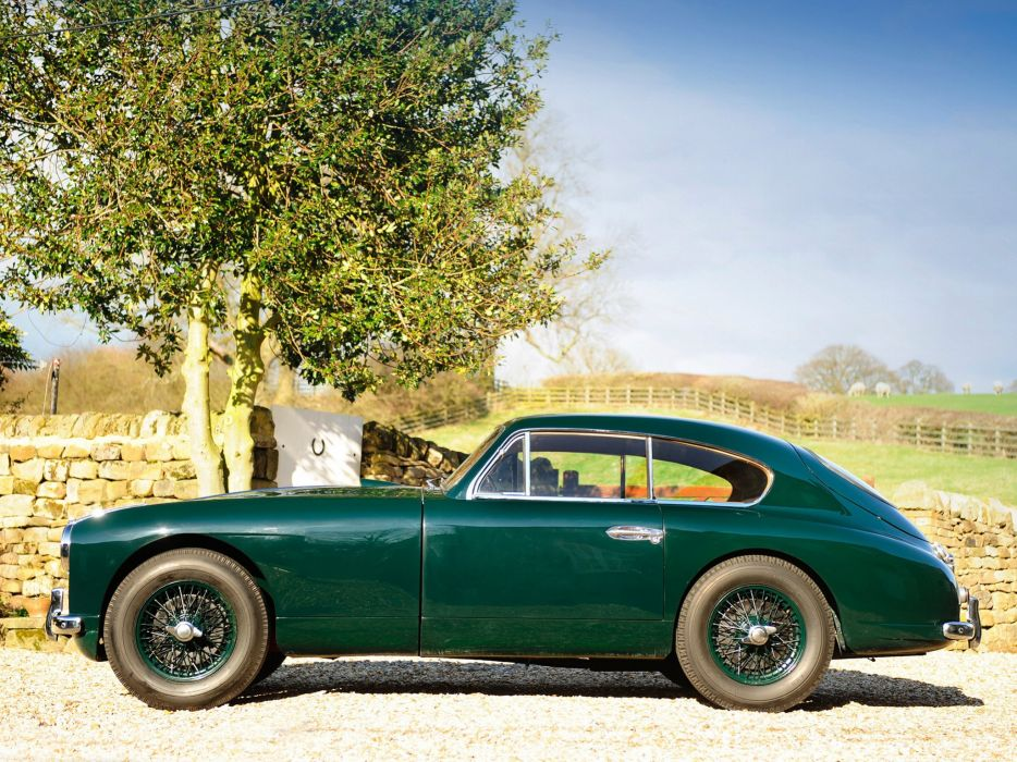 1953-55 Aston Martin DB24 Sports Saloon UK-spec retro  g wallpaper