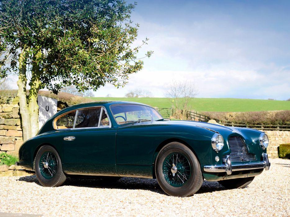 1953-55 Aston Martin DB24 Sports Saloon UK-spec retro  gs wallpaper