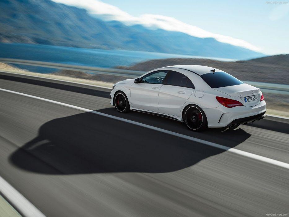Mercedes-Benz-CLA45 AMG 2014 1600x1200 wallpaper 33 wallpaper