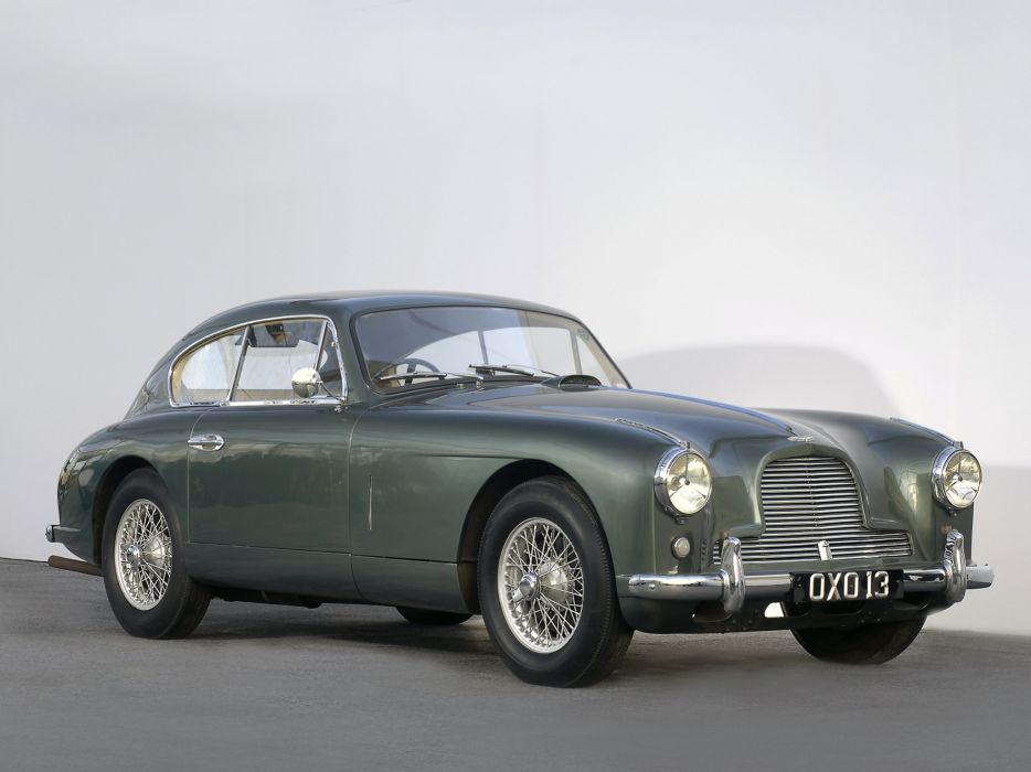 1953-55 Aston Martin DB24 Sports Saloon UK-spec retro     d wallpaper