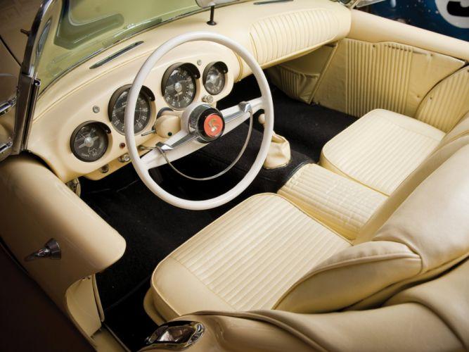 1954 Kaiser Darrin Sport Convertible (161) retro interior y wallpaper