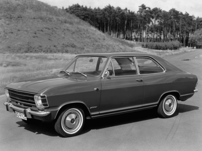 1967 Opel Olympia Coupe (A) classic wallpaper