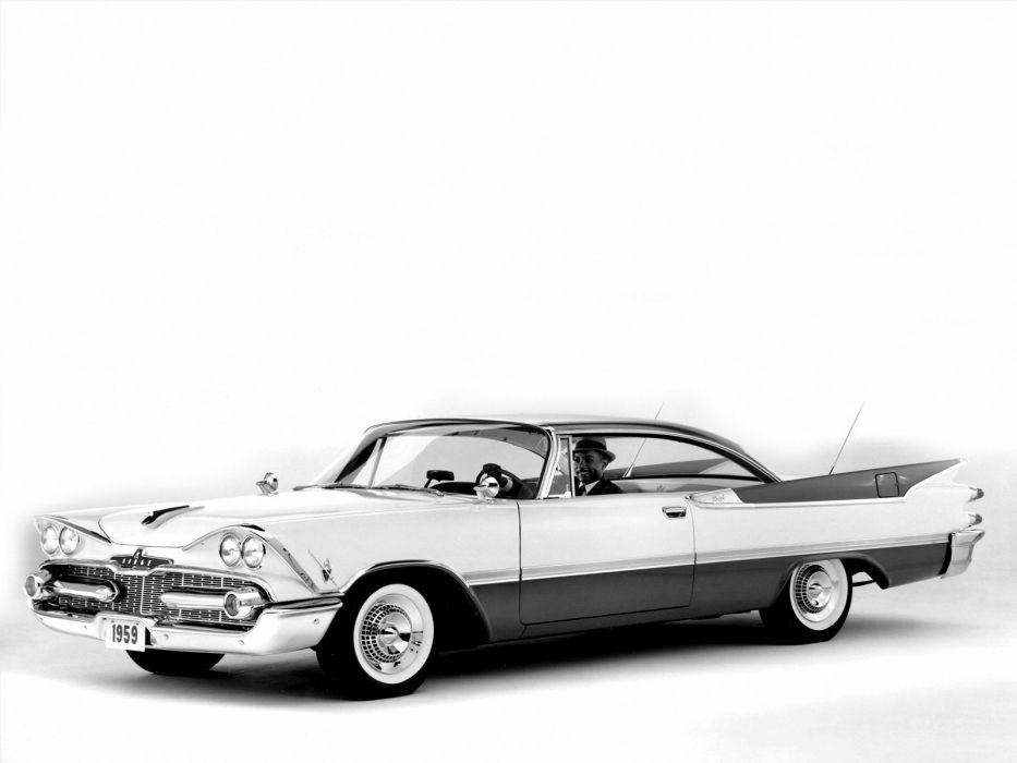 1959 Dodge Royal Lancer Hardtop Coupe (MD3M-23) retro   f wallpaper