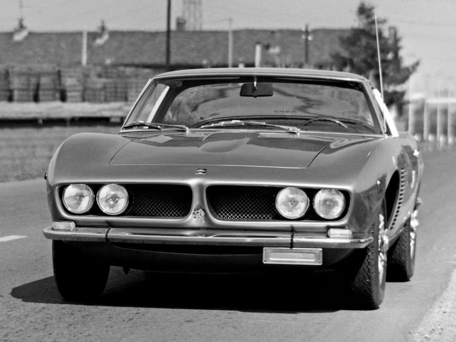 1968 Iso Grifo G-L classic supercar     f wallpaper